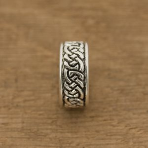 Celtic Knotwork Ring in Sterling Silver