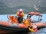 The RNLI on Exercise at the Whisky Cruise