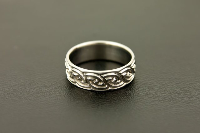 Custom Made Titanium Wedding Ring