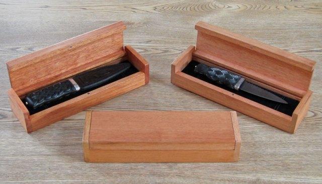 Wood Sgian Dubh Boxes