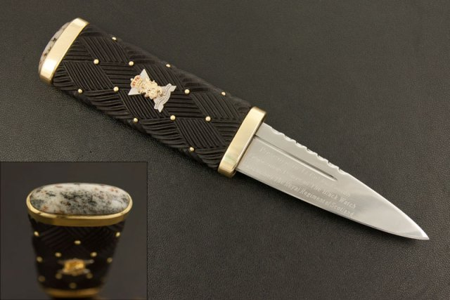 Sgian Dubh for the Commanding Officer of The Black Watch, 3rd Battalion The Royal Regiment of Scotland