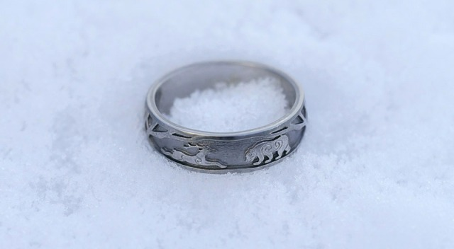 Elk & Bear Wedding Rings